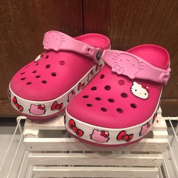1772b05380 hello kitty crocs Other - Hello Kitty crocs